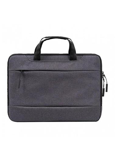 """Mcstorey MacBook Pro Air Retina Laptop Bag Handbag Çanta 13"""" 13.3"""" Koruma Omuz Askısız Siyah"""